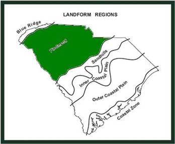 Piedmont - Geographical Regions of South Carolina